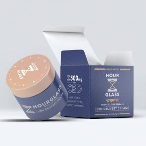 Hourglass Packaging 3D Rendering